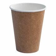 Heiß- und Kaltgetränkebecher aus Kraftpapier beschichtet,  8oz., 200 ml 50 Stk.