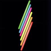 Maxi-Knick-Leuchtstick Knicklicht XXL Neon farblich sortiert voller Leuchteffekt