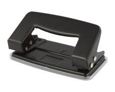 PAVO Premium Bürolocher Taschenlocher für 10 Blatt Metallgehäuse, schwarz