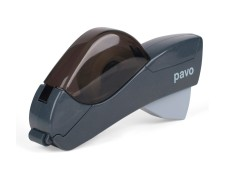 Pavo Click & Go Büroabroller Handabroller für 12 und 19mm Klebefilm 25mm Kern