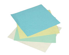 Rückwände / Deckblätter Smooth Light 160gr/m2, A4, pastel gelb, 250 Stk.