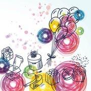 Motivservietten 3-lagig 33x33 cm Geburtstagsgeschenke Birthday Gifts 20 Stk