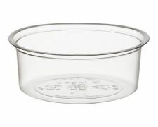 BIO Dressingbecher rund  60ml, Ø 70mm, aus Biokunststoff (PLA), 100 Stk.