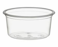 BIO Dressingbecher 3 oz/90ml, Push&Click, aus Biokunststoff (PLA) 40 Stk.