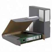 Ordner-Transport-Box für 50mm Ordner mit Steckverschluss anthrazit 320x288x50mm