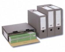 PG-PF_B02.30_24_02_1 ARCHIV-ABLAGEBOX zum Aufbewahren von Ordnerinhalten, 315x265x100mm, anthrazit