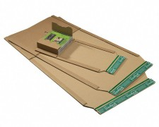 Universalverpackung PP B02.06 braun, 274x191x 1-80mm, für B5, SK-Verschluss