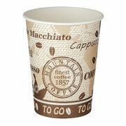 Kaffeebecher Premium, Coffee to go, Pappe beschichtet, 300 ml kompakt, 50 Stk.