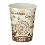 Automatenbecher Coffee to go, 70,3mm Ø, Pappe beschichtet, 180 ml  100 Stk.