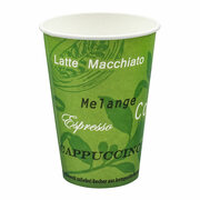 BIO Automatenbecher Kaffeebecher Pappbecher 70,3mm Ø  Bio Green 150 ml 100 Stk.
