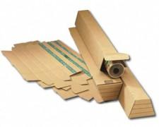 TRAPEZ Versandverpackung für gerollte Güter, SK-Verschluss  435x105/ 55x75mm, A2