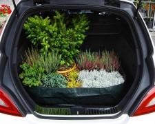 Kofferraumtasche Schutztasche Pflanzenmatte 90 x 60 x 20 cm PE Gewebe 160 gr