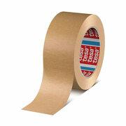 TESA Papierklebeband 4713 mit Naturkautschukkleber  50mm x  50m, braun