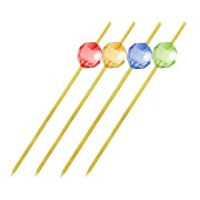 Bambus Fingerfood-Spieße PERLE 120 mm, stabil und splitterfrei, 100 Stk.