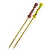 Bambus Fingerfood-Spieße KORDEL 120 mm, stabil und splitterfrei, 100 Stk.