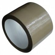 1-PACK Packband Klebeband OPP-909NN, 75 mm x 66 m, Low Noise braun