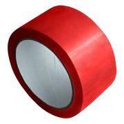1-PACK Packband Klebeband Markierungsband, PP, 48 mm x 66 m, rot