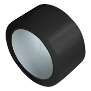 1-PACK Packband Klebeband Markierungsband, PP, 48 mm x 66 m, schwarz