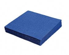 Servietten 33 x 33 cm 1/4-Falz 3-lagig dunkelblau, 20 Stk.