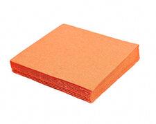 Servietten 33 x 33 cm 1/4-Falz 3-lagig orange, 20 Stk.