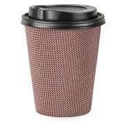 Premium Doppelwand Kaffeebecher CoffeeToGo mit Trinkdeckel 300/420ml, 100 Stk.