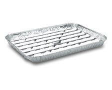 Alu-Grillpfannen Grillschalen BBQ, 34.4 x 22.4cm, mehrfach verwendbar, 100 Stk.