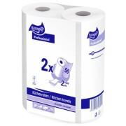 Küchenrollen Tissue 2-lagig Harmony Professional, 50 Blatt, 2 Stück