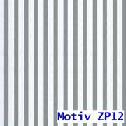 Geschenkpapier Prestige metallisiert 100 cm x 100 m   Motiv ZP12 silber gestreift