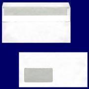 Briefumschlag DL-C5/6 220x110mm, 75gr, SK MF, weiß, 50 Stk.