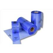 VCI-Schlauchfolie, blau-transparent, 300 x 0,10 mm 100my / 200 m