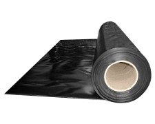 Abdeckfolie Baufolie, schwarz opak  1500mm, x 50m, 150my LDPE