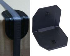 Kantenschutzecken mit Dorn, 40x40mm, 100 Stk.