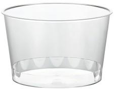Eisbecher PS rund 300 ml Ø 11 cm   Höhe 5,8 cm glasklar CLASSIC   50 Stk.