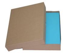 Stülpdeckelkarton aus Wellpappe SMALL für Din A4, 305x215x50-(75)mm