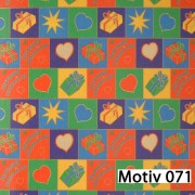 Weihnachtsgeschenkpapier Weihnachtspapier  30 cm x 200 m   Motiv 071