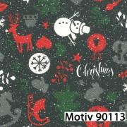 Weihnachtsgeschenkpapier 30 cm x 200 m   Motiv 90113