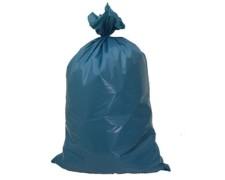 Müllsäcke  70 Liter, 57 x 100 cm, LDPE, blau, 25 Stk.