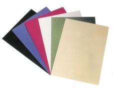 Rückwände / Deckblätter genarbter Lederkarton, 250gr. A4, blau, 100 Stk.