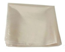 Flachbeutel Flachsack  900 x 1200 mm, LDPE Regenerat grau, 60 my stark
