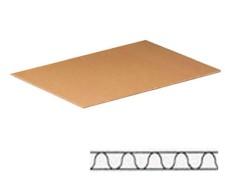 Karton- und Palettenzwischenlage für EURO Paletten 1200x800mm 1 wellig
