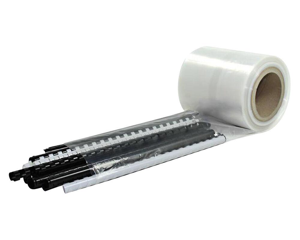 Schlauchfolie  500mm breit, 100my, transparent, LDPE, 125 lfm.