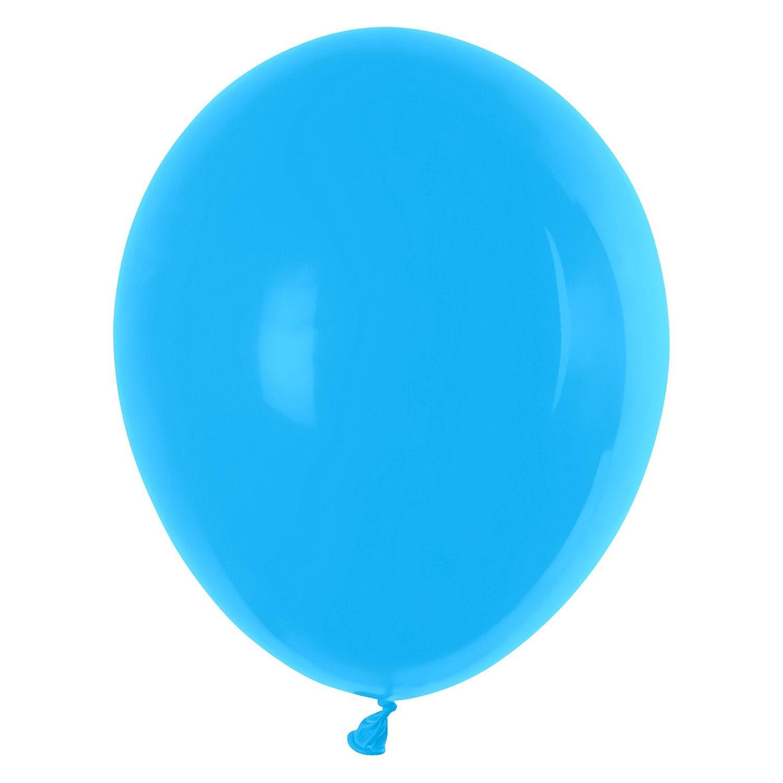 Luftballons hellblau Ø 250 mm, Größe M, 10 Stk.