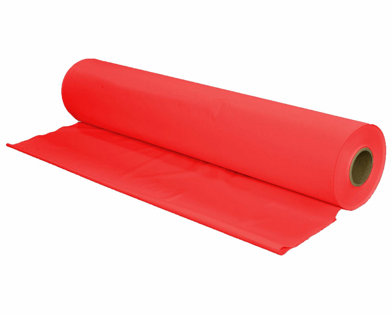 tischtuch tischdecke biertischdecke ldpe rot perforiert auf rolle 0 70 x 240m