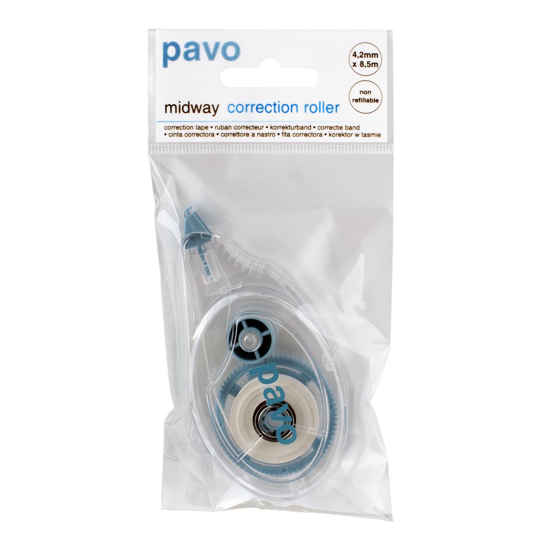 PAVO Korrekturroller Korrekturmaus Midway 4,2mm x 8,5m hohe Deckkraft