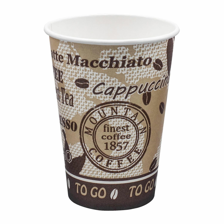 Automatenbecher Kaffeebecher 70,3mm Ø  Coffee Mountain 150 ml 100 Stk.