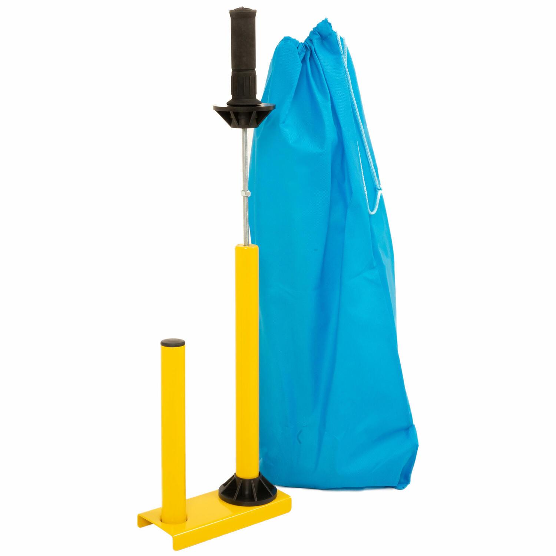 Sparset 2 Rollen Handstretchfolie Handwickelfolie 20my 50cm mit Abroller BSTAR