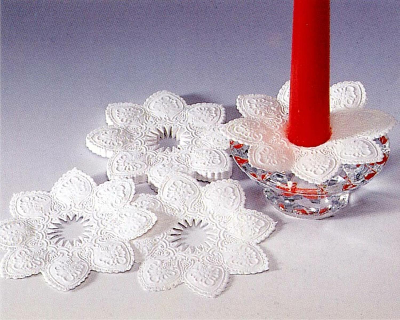 Kerzen-Manschetten aus Papier Ø 10 cm, 100 Stk.