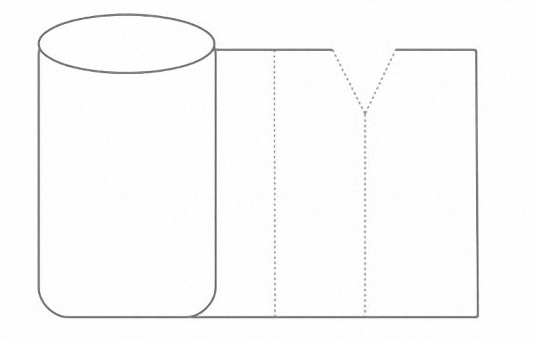 2-schichtig Luftpolsterfolie 30cm x 100m