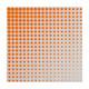 Motivservietten 3-lagig, 33 x 33 cm, Punkte, neonorange, 20 Stk.