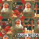 Weihnachtsgeschenkpapier 30 cm x 200 m | Motiv 90104 Weihnachtsmann